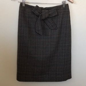 J.Crew Wool Plaid Skirt